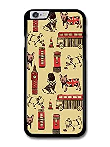 British Pug Pattern London Big Bang case for iPhone 6 Plus
