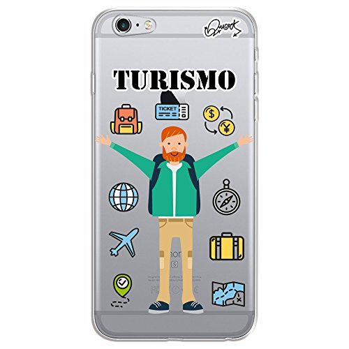 Capa Personalizada para Apple iPhone 6s - TURISMO MASC - Quark