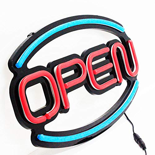 New Style Design led Open Sign Advertising neon Open Sign for bar Coffee Business Hour Electronic Signs