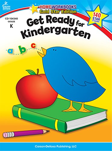 Get Ready for Kindergarten: Gold Star Edition (Home Workbooks) cover