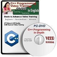 C++ Video Training (60 Vidoes, 9 Hrs) 1 DVD