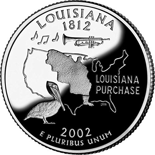 2002 Louisianna – P State Quarter Roll
