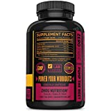 Nitric Oxide Supplement with L Arginine, Citrulline Malate, AAKG and Beet Root - Powerful N.O. Booster and Muscle Builder for Strength, Blood Flow and Endurance - 120 Veggie Capsules