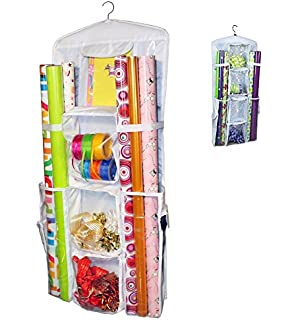 Amazon.com: Hanging Gift Wrap Organizer: Home & Kitchen