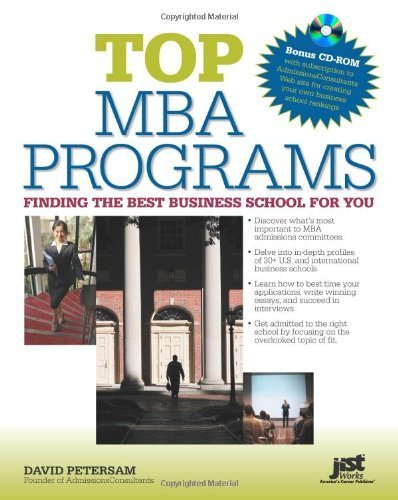 Top MBA Programs W/CD-ROM: Finding the Best Business School for You by David Petersam (2009-09-01)