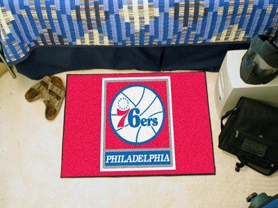 29' Logo Starter Mat (NBA Philadelphia 76ers 18'' x 29'' Logo Starter Mat)
