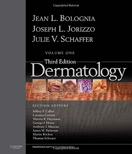 Dermatology: 2-Volume Set: Expert Consult Premium Edition - Enhanced Online Features and Print, 3e (Bolognia, Dermatology) by Jean L. Bolognia MD (2012-06-18)