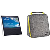Monoy Protective Case Bag Zipper Sleeve with Carry Handle For Amazon Echo Show