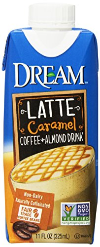DREAM Latte Coffee + Almond Caramel Non-Dairy Drink, 11 Fluid Ounce (Pack of 12)