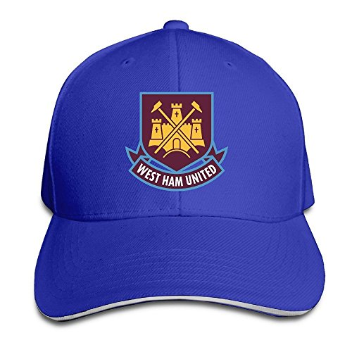 MaNeg West Ham United Fc London Logo (1) Sandwich Peaked Hat & - Boston Prada Store