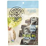 The Chocolate Trader Dark Chocolate Infused with Olive Oil, Sea Salt, 3.6 Ounce (Pack of 8)