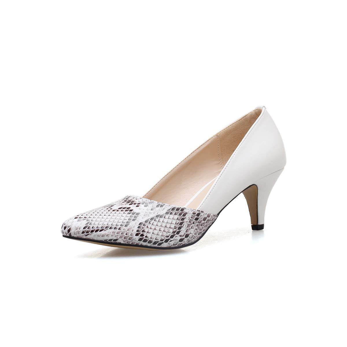 Yukun Schuhe mit hohen Absätzen Absätzen Absätzen Frauen Schuhe High Heel Frauen Fein Mit Einzelnen Schuhe Weibliche Pu Spitz Schwarz Professionelle Einzelne Schuhe 0e7943