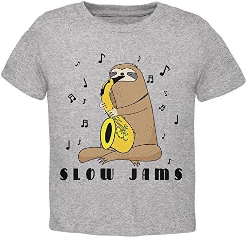 Old Glory Merry Slothmas Sloth Christmas Tree Toddler T Shirt
