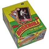Topps 1987 Baseball Wax Pack Trading Card Box (36 Packs) Possible Rookie Cards Including Barry Bonds, Rafael Palmeiro and Barry Larkin