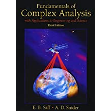 Fundamentals of Complex Analysis  with Applications to Engineering,  Science, and Mathematics (3rd Edition)