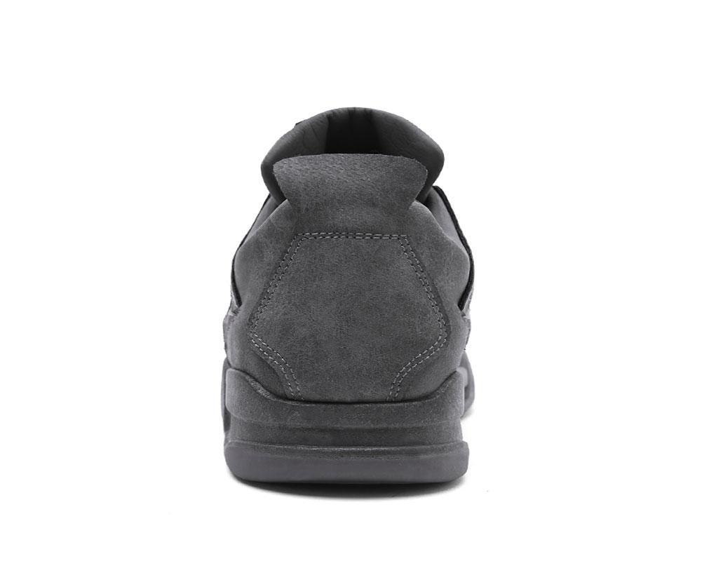 NANYDX NANYDX NANYDX Hombres Otoño e Invierno Aumentar Cojín de Aire Ejercicio Zapatos Alta Ayuda Engrosamiento Ocio Corriendo Zapatos, Gris, UK 9   EU 43 695fb0
