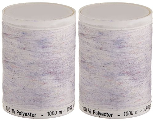 2-Pack - Sew-All Thread 1094 Yards each spool - Nu White by Gutermann