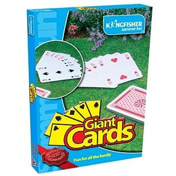 Juego de Cartas Gigantes de jardín, de King Fisher (GA013 ...