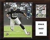 "NFL Oakland Raiders Khalil Mack Player Plaque, 12""x15"""