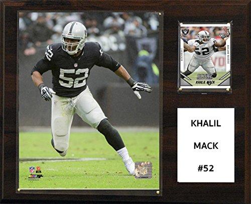 C&I Collectables NFL Oakland Raiders Khalil Mack Player Plaque, 12