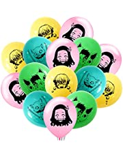 40PCS Demon Slay_er Balloons - Latex Balloons Set for Birthday Party Supplies Theme Party Decorations