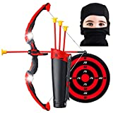 Ninja Bow and Arrow Set for Kids with LED Flashing