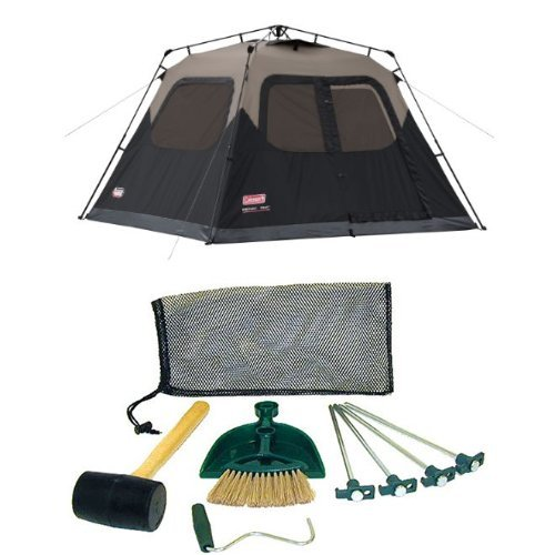 Coleman 6-Person Instant Cabin Tent and Coleman Tent Kit