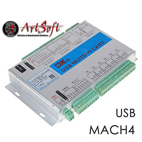 UCONTRO USB 2MHz Mach4 CNC 6 Axis Motion Control Card Breakout - Import It  All