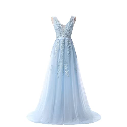 Pale Blue Ball Gown