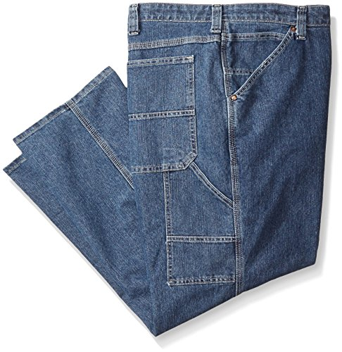Lee Men's Big-Tall Custom Fit Carpenter Jean, Original Stone, 54W x 30L (Big Jean Tall Carpenter And)