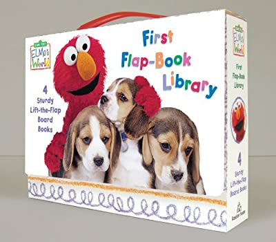 Elmos World First Flap-book Library by Random House Books for Young Readers