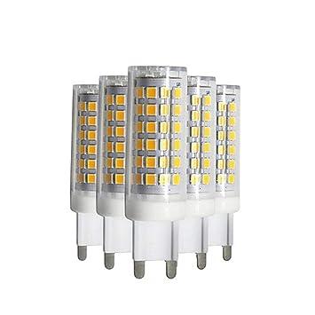 SHENNANJI Bombillas LED de bajo consumo para iluminación del hogar, bombilla LED G9, sin