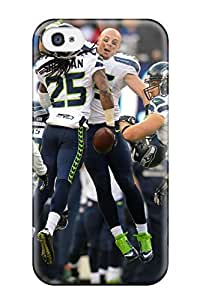 Iphone 4/4s Cover Case - Eco-friendly Packaging(seattleeahawks )