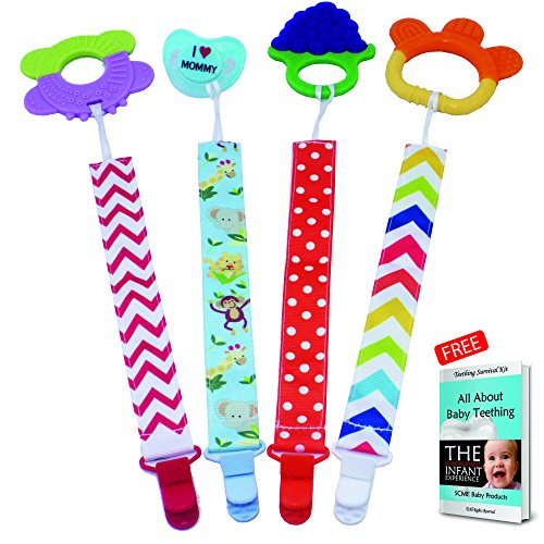 Pacifier   Dummy clips holder for baby pacifiers, soother, b