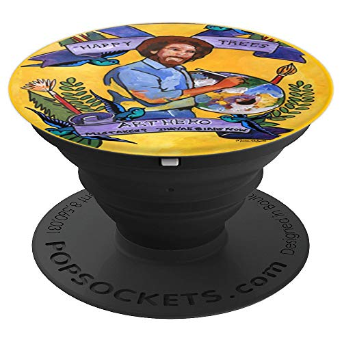 Happy Trees Art Hero - PopSockets Grip and Stand for Phones and Tablets