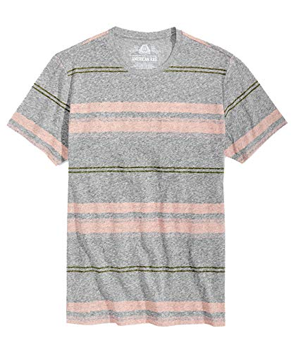 American Rag Men's Textured Short-Sleeve Crew-Neck T-Shirt (Pale Waters, Large) from American Rag