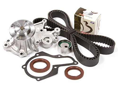 Evergreen TBK241WPT Fits 06/1993-1995 Geo Metro 1.0L SOHC 6V VIN 6 Timing Belt Kit Water ()
