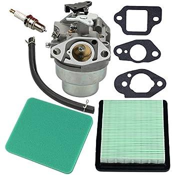 amazon com panari gcv160 carburetor tune up kit air filter forpanari carburetor gasket air filter spark plug for honda gcv160 engine hrb216 hrr216 hrs216 hrt216 hrz216 lawn mower