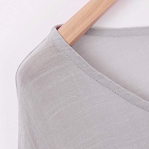 YUNY Mens Fashion Linen Cardi Long Sleeve Square Collor Solid Shirt White XL