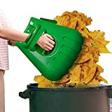 Large Garden and Yard Leaf Scoops,Leaf Grabbers, Ergonomic Hand Rakes for Picking up Leaves,Grass Clippings and Lawn Debris