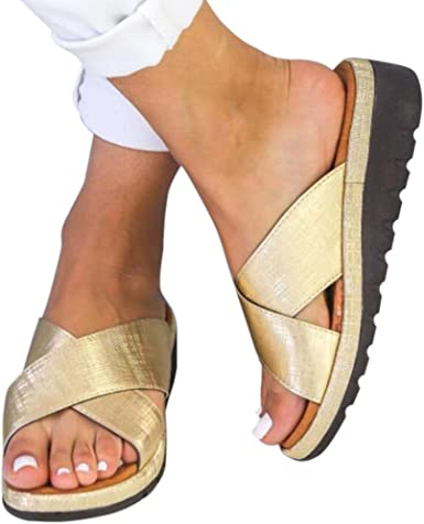 Women Strap Sandal with Orthotic Arch