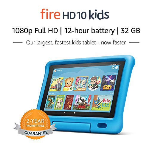"""Fire HD 10 Kids Tablet – 10.1"""" 1080p full HD display, 32 GB,..."""