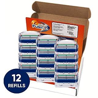 Gillette Fusion Manual Men's Razor Blade Refills, 12 Count, Mens Razors / Blades (B004B8AZH0) | Amazon price tracker / tracking, Amazon price history charts, Amazon price watches, Amazon price drop alerts