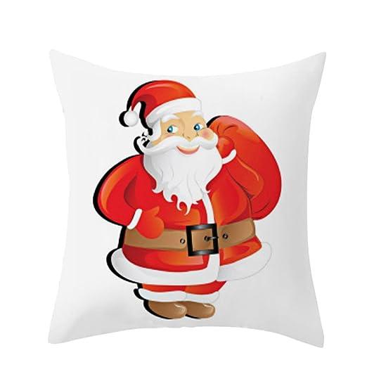 RWINDG_Kissenbezug rwindg Navidad Perro Lino Almohada ...
