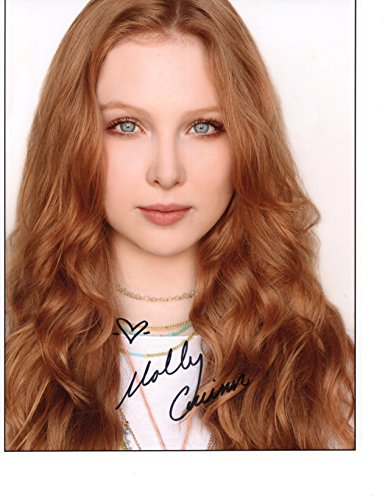 (MOLLY QUINN AUTOGRAPHED 8x10 COLOR PHOTO+COA ALEXIS CASTLE)
