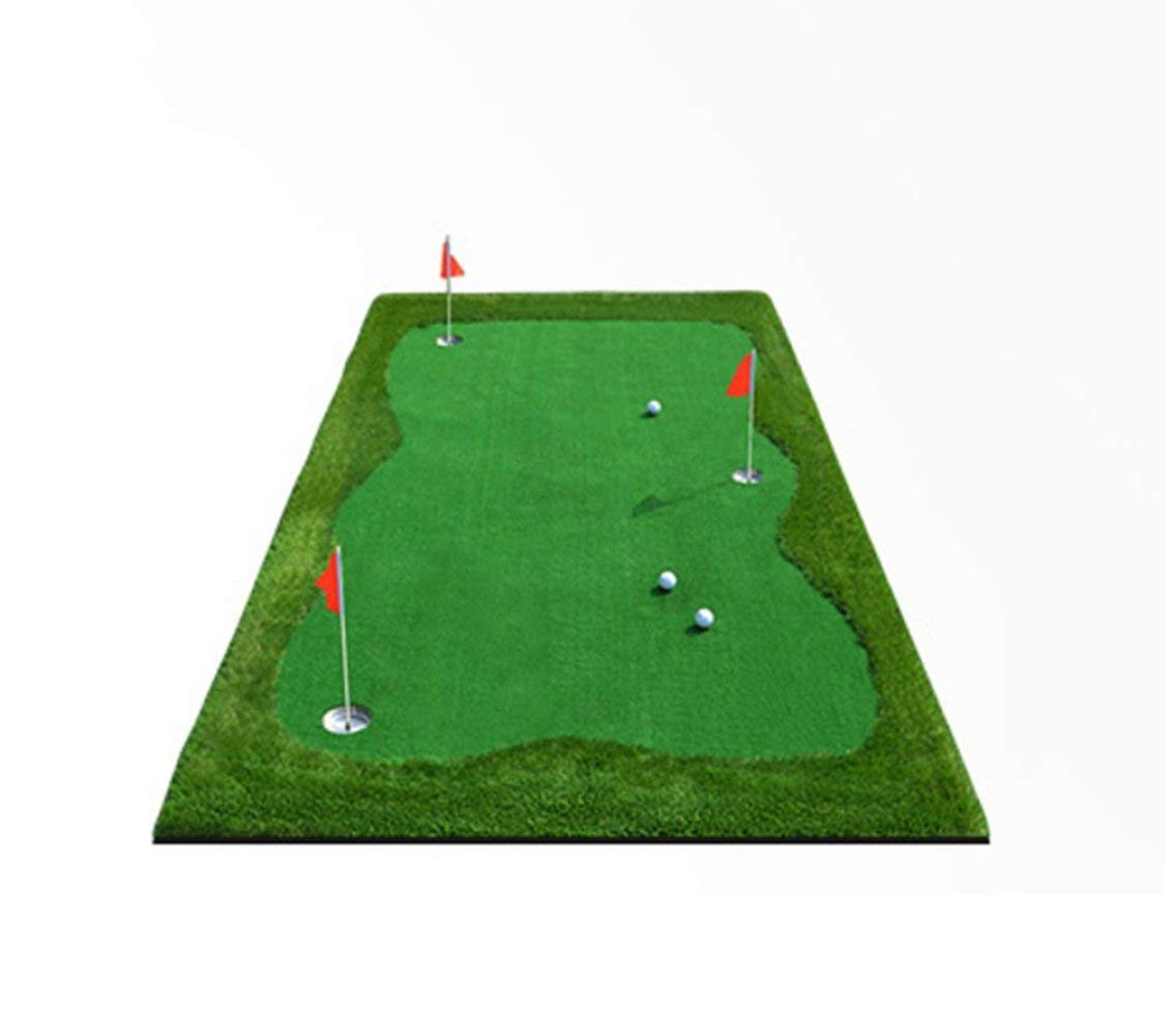 GZ Colchonetas Golf Golf de Interior Verdes Putt Entrenador ...