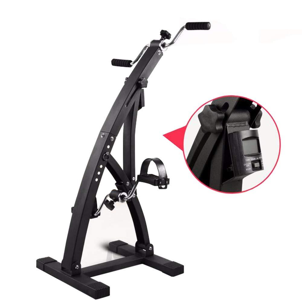 JFJL Heimtrainer für Arm und Bein,Physiotherapie und Rehab Bike Pedal Trainer mit elektronischen Monitoranzeigen,Ideal für Handicap, Behinderte und Schlaganfall Überlebende