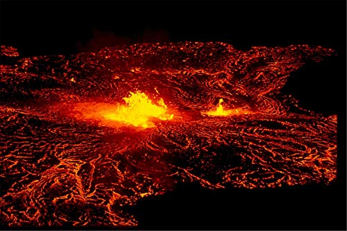 - Home Comforts Canvas Print National Park Hawaii Volcanoes Lava Flow Hawaii Vivid Imagery Stretched Canvas 32 x 24