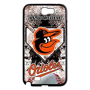 MLB Baltimore Orioles Samsung Galaxy Note 2 N7100 Cases Cover