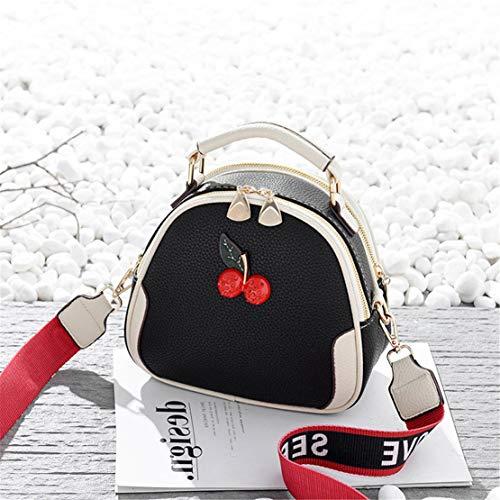 Splicing Da Black Colore Messenger Borse Metallo Xiuy Borse Borse Fashion Borse Secchiello Spalla Lavoro Mano Borse Cinghia Tracolla a Shopper Personalizzati Donna Classica Borse a 8pzqBPS